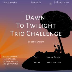 Dawn To Twilight Trio Challenge: 9-11