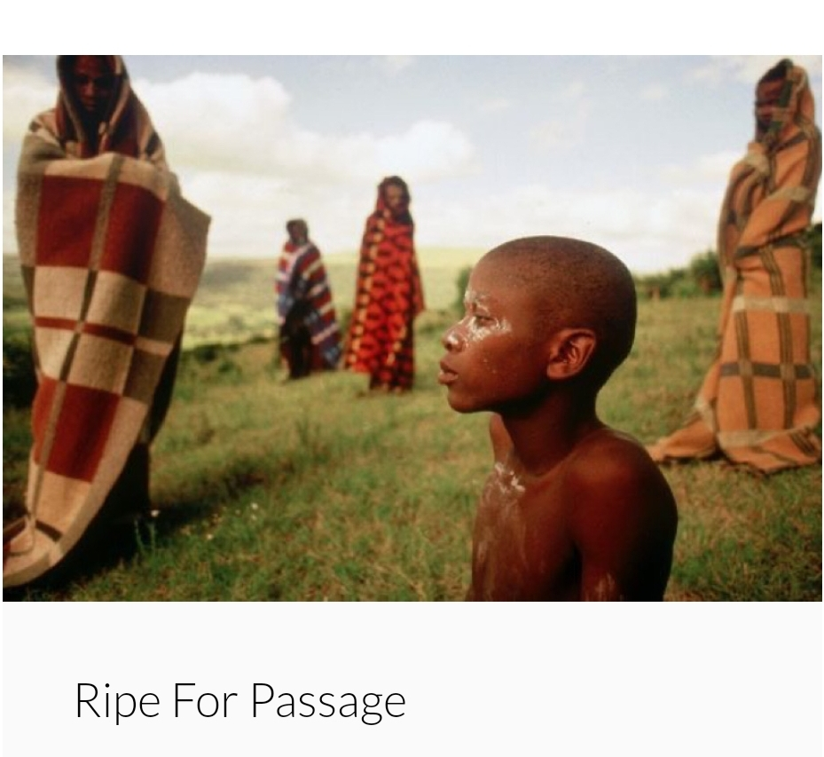 Ripe for Passage- Benson Langat